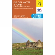 Explorer Map OL42 Kielder Water and Forest