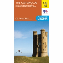 Explorer Map OL45 The Cotswolds
