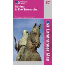 Landranger Map 57 Stirling and The Trossachs