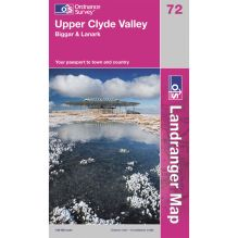 Landranger Map 72 Upper Clyde Valley