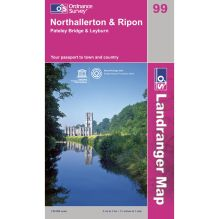 Landranger Map 99 Northallerton and Ripon