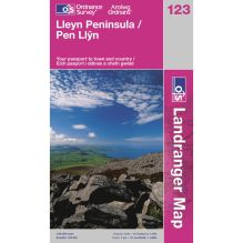 Landranger Map 123 Lleyn Peninsula