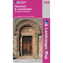 Landranger Map 149 Hereford and Leominster