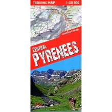 Central Pyrenees: Trekking Map