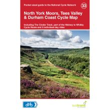 North York Moors, Tees Valley and Durham Coast Cycle Map