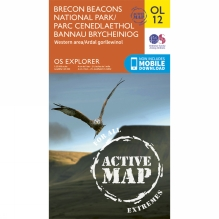 Active Explorer Map OL12 Brecon Beacons National Park - Western Area