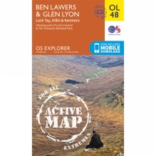 Active Explorer Map OL48 Ben Lawers and Glen Lyon