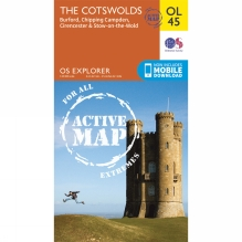 Active Explorer Map OL45 The Cotswolds