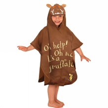 The Gruffalo Poncho Towel Medium