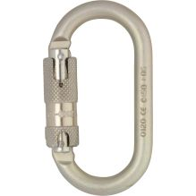 10mm Oval Steel Quicklock Karabiner
