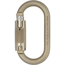 10mm Oval Steel Locksafe Karabiner