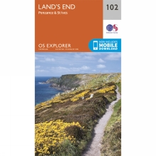 Explorer Map 102 Land's End