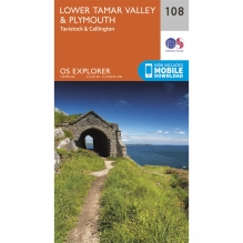 Explorer Map 108 Lower Tamar Valley and Plymouth