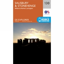Explorer Map 130 Salisbury and Stonehenge