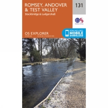 Explorer Map 131 Romsey, Andover and Test Valley
