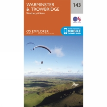 Explorer Map 143 Warminster and Trowbridge