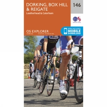 Explorer Map 146 Dorking, Box Hill and Reigate