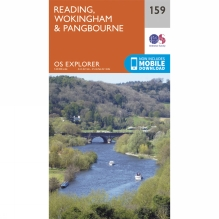 Explorer Map 159 Reading, Wokingham and Pangbourne