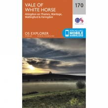 Explorer Map 170 Vale of White Horse, Abingdon and Wantage