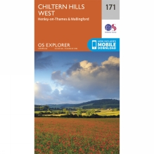 Explorer Map 171 Chiltern Hills West