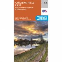Explorer Map 172 Chiltern Hills East