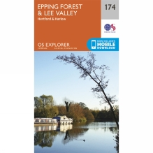 Explorer Map 174 Epping Forest and Lee Valley