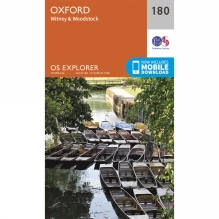 Explorer Map 180 Oxford