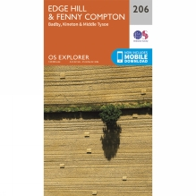 Explorer Map 206 Edge Hill and Fenny Compton