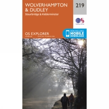 Explorer Map 219 Wolverhampton and Dudley