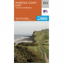 Explorer Map 252 Norfolk Coast East