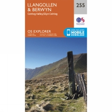 Explorer Map 255 Llangollen and Berwyn