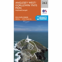 Explorer Map 262 Anglesey West