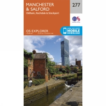 Explorer Map 277 Manchester and Salford