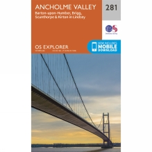 Explorer Map 281 Ancholme Valley