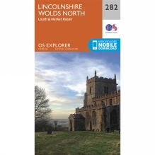 Explorer Map 282 Lincolnshire Wolds North