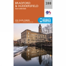 Explorer Map 288 Bradford and Huddersfield