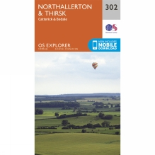 Explorer Map 302 Northallerton and Thirsk