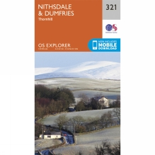 Explorer Map 321 Nithsdale and Dumfries