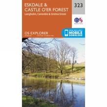 Explorer Map 323 Eskdale and Castle O'er Forest