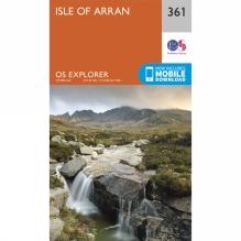 Explorer Map 361 Isle of Arran