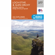 Explorer Map 377 Loch Etive and Glen Orchy