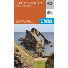 Explorer Map 425 Huntly and Cullen