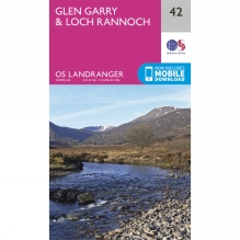 Landranger Map 42 Glen Garry and Loch Rannoch