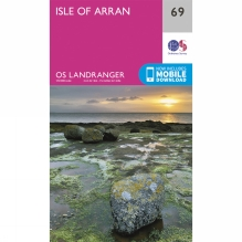 Landranger Map 69 Isle of Arran