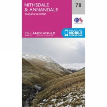Landranger Map 78 Nithsdale and Annandale