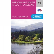 Landranger Map 96 Barrow-in-Furness and South Lakeland