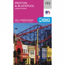 Landranger Map 102 Preston and Blackpool