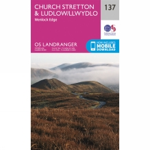 Landranger Map 137 Church Stretton and Ludlow