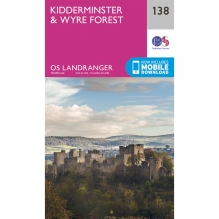 Landranger Map 138 Kidderminster and Wyre Forest