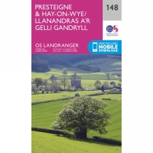 Landranger Map 148 Presteigne and Hay-on-Wye